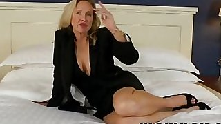 gigantic tit mature milf sucks and fucks