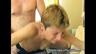 Mature British housewife is fucked in her butt
